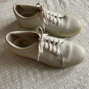 Acne Studios Adriana white leather sneakers size 7